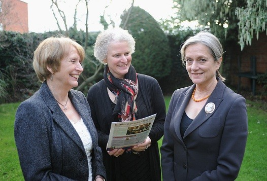 From Left: Diana Packwood, Sallie-Anne O'Byrne and Caroline Denham.