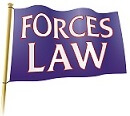 We are a Founder Member of the Forces  Law network